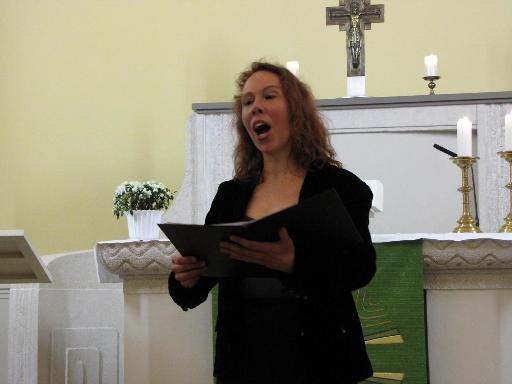 Hochzeitssängerin Alexandra Gießler